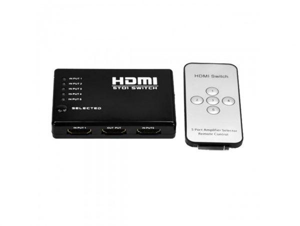 دیتا سوئیچ ۵ به ۱ Royal HDMI