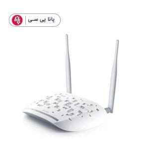 مودم-روتر +ADSL۲ و بیسیم تی پی-لینک مدل TD-W۸۹۶۱N (همکار برای تعداد بالا تماس گرفته شود)