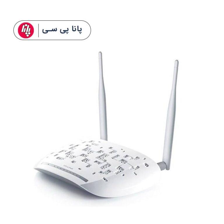 مودم روتر تی پی لینک TD-W8961N ا TP-LINK TD-W8961N ADSL2 Plus Wireless N300 Modem Router