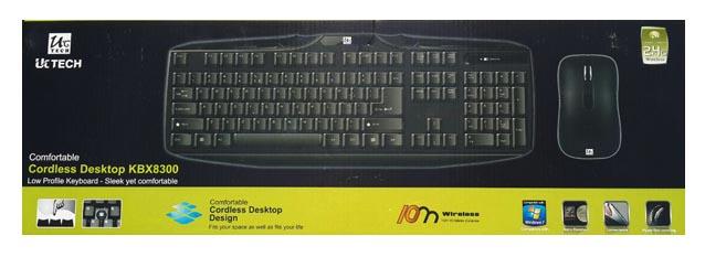 کیبورد و موس  Uctech KBX8300 Wireless