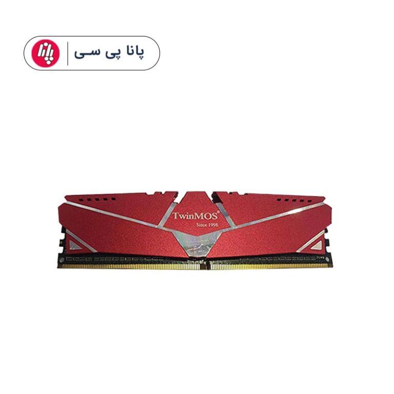 حافظه رم دسکتاپ توین موس مدل Twinmos 8GB DDR4 2666Mhz(هیت سینک)