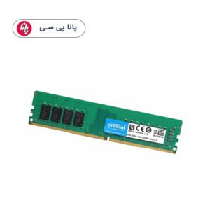 حافظه رم دسکتاپ CRUCIAL 16GB DDR4 2666Mhz