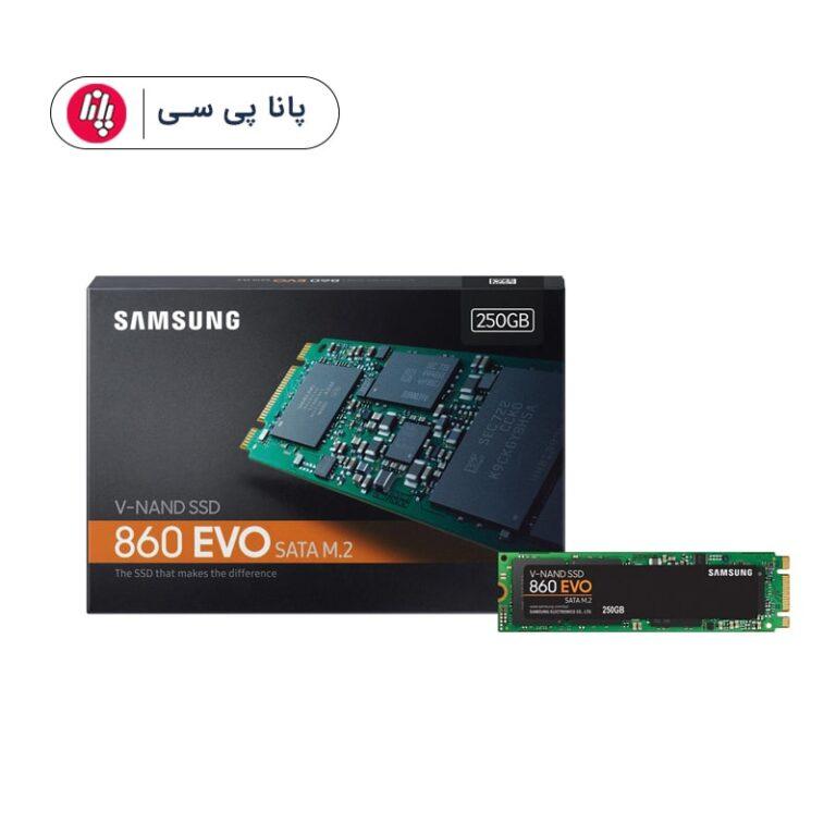 حافظه SSD سامسونگ مدل Samsung 860 EVO 250GB M.2